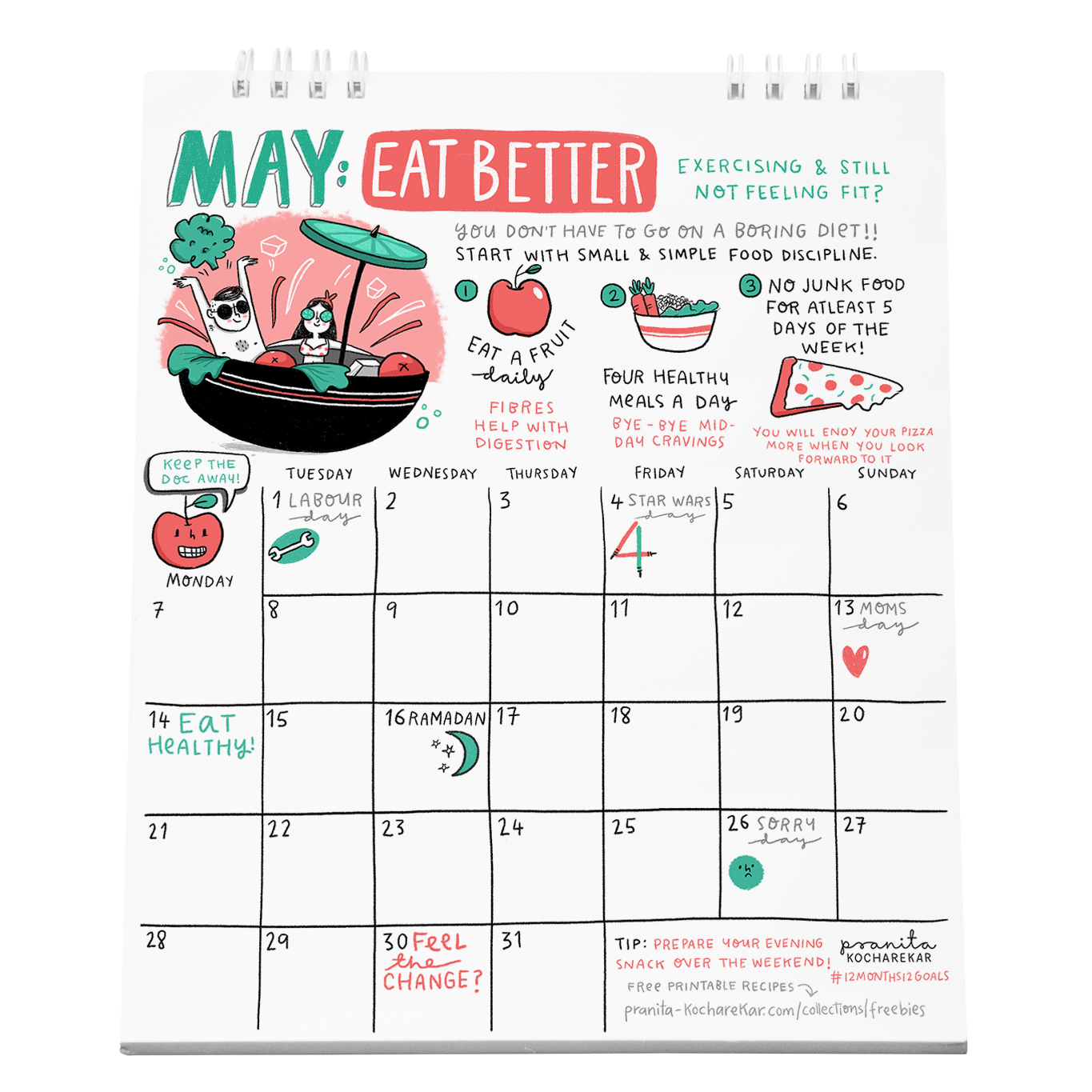 this month helps create healthy eating habits that are tasty too ive included some free fun recipes that are super easy to make will sort you for the